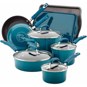 Rachel Ray Cucina 12-Piece Cookware Set